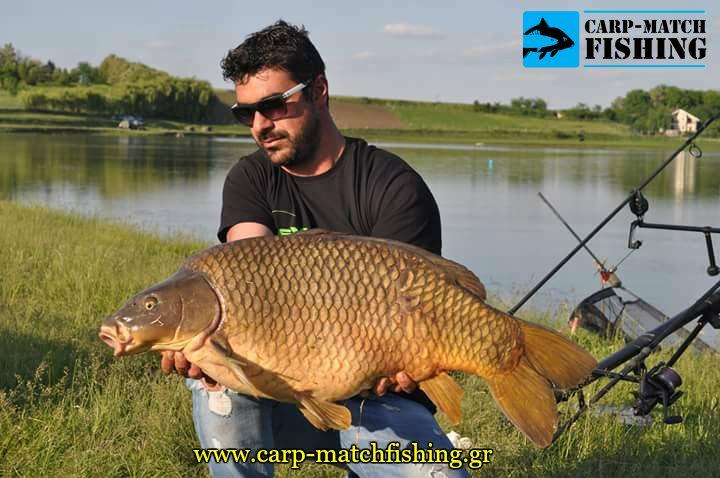 stefanos kiritsopoulos big carp carpmatchfishing