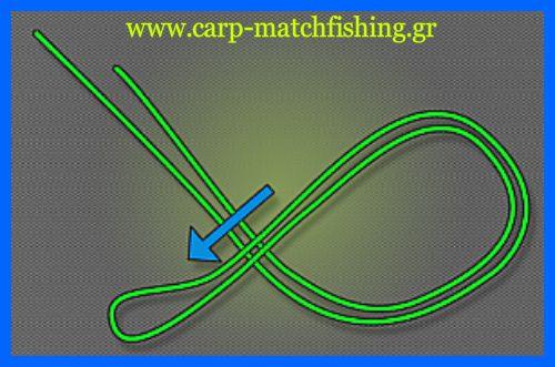 figureof8-1.jpg/Ο κόμπος οχταράκι, ή ο κόμπος του 8, είναι ένας από τους πιο δυνατούς και αξιόπιστους κόμπους, ειδικά όταν θέλουμε να φτιάχνουμε θηλιές για τα παράμαλα ή για τους συνδέσμους μας στις αρματωσιές. Ειδικά στο ψάρεμα του κυπρίνου χρησιμοποιείται για τα παράμαλα όταν θέλουμε να τους εφαρμόσουμε σάκους pva, σε συνδέσμους ταχείας απε.λευθέρωσης