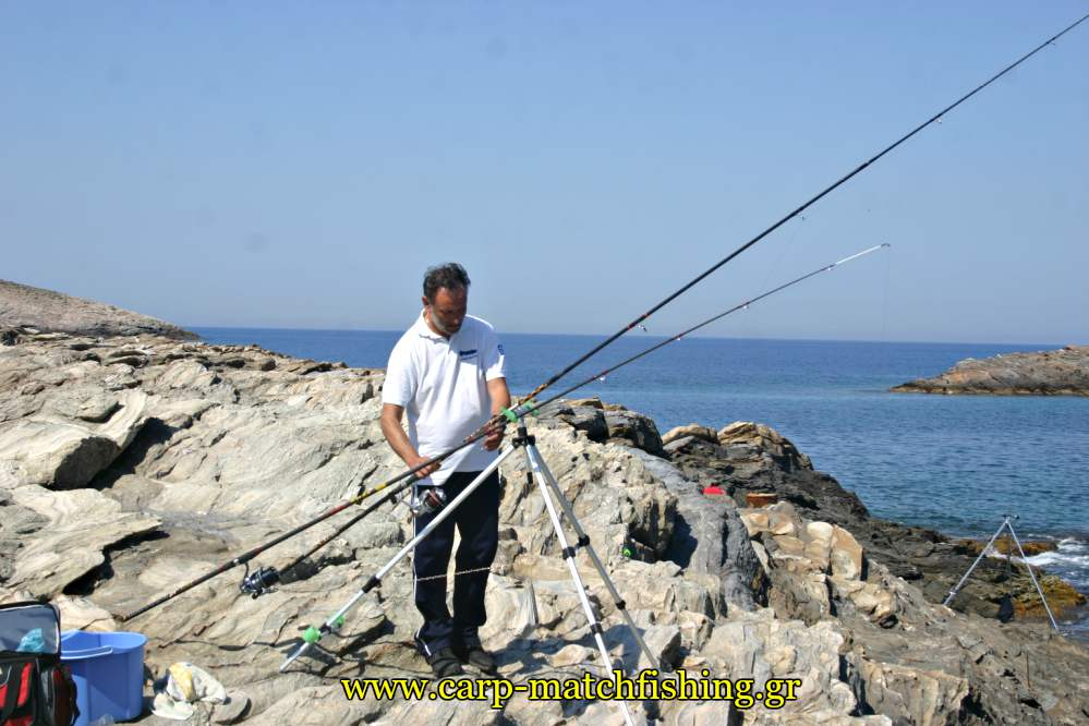 casting-kythnos-rock-carpmatchfishing
