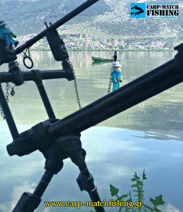 aginas carp giannena rod pod 2018 carpmatchfishing lake pamvotida