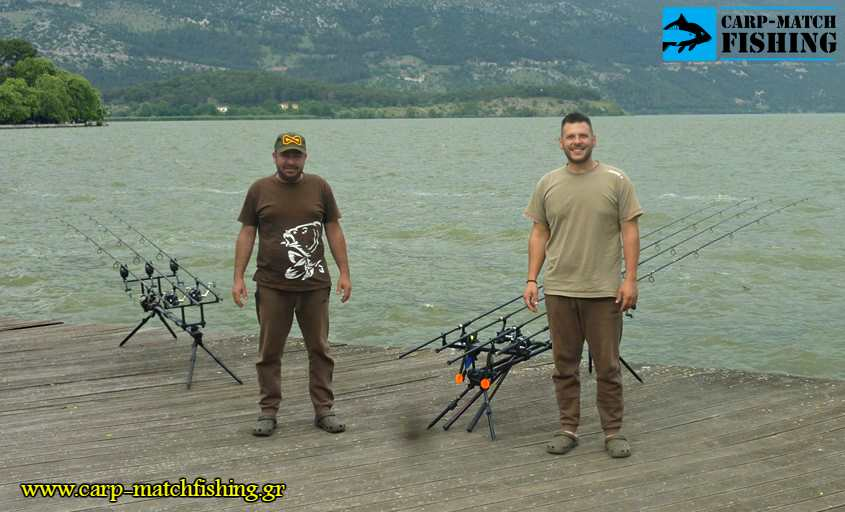 agonas carpfishing ioannina carpmatchfishing pamvotida lake