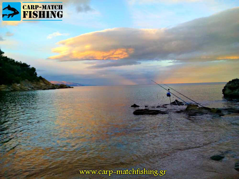 sunset casting psaria carpmatchfishing