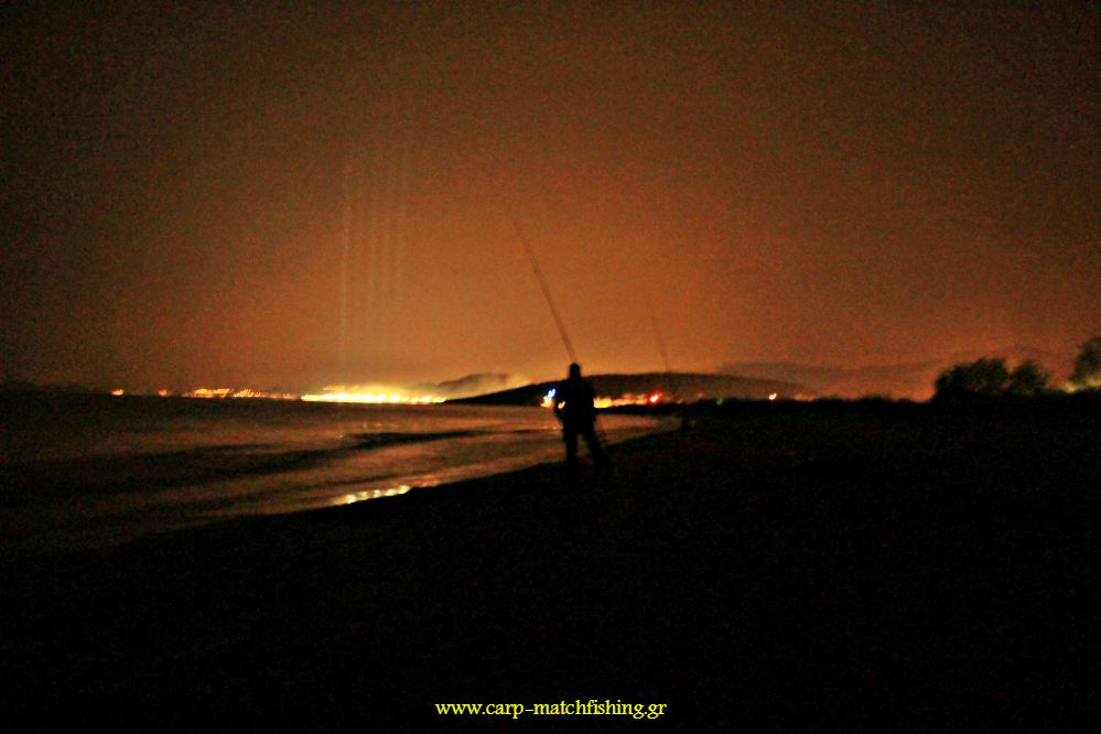 paralia night casting carpmatchfishing