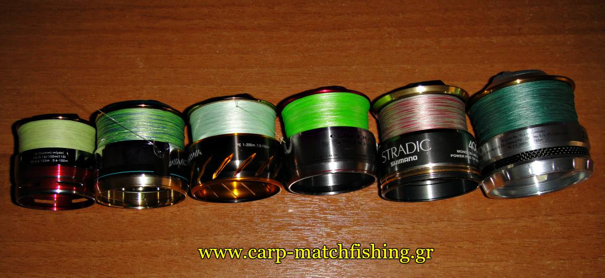 spinning-spools-full-of-braid-bird-nests-carpmatchfishing