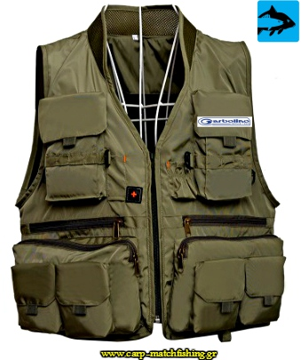 garbolino gileko fishing vest sports carpmatchfishing