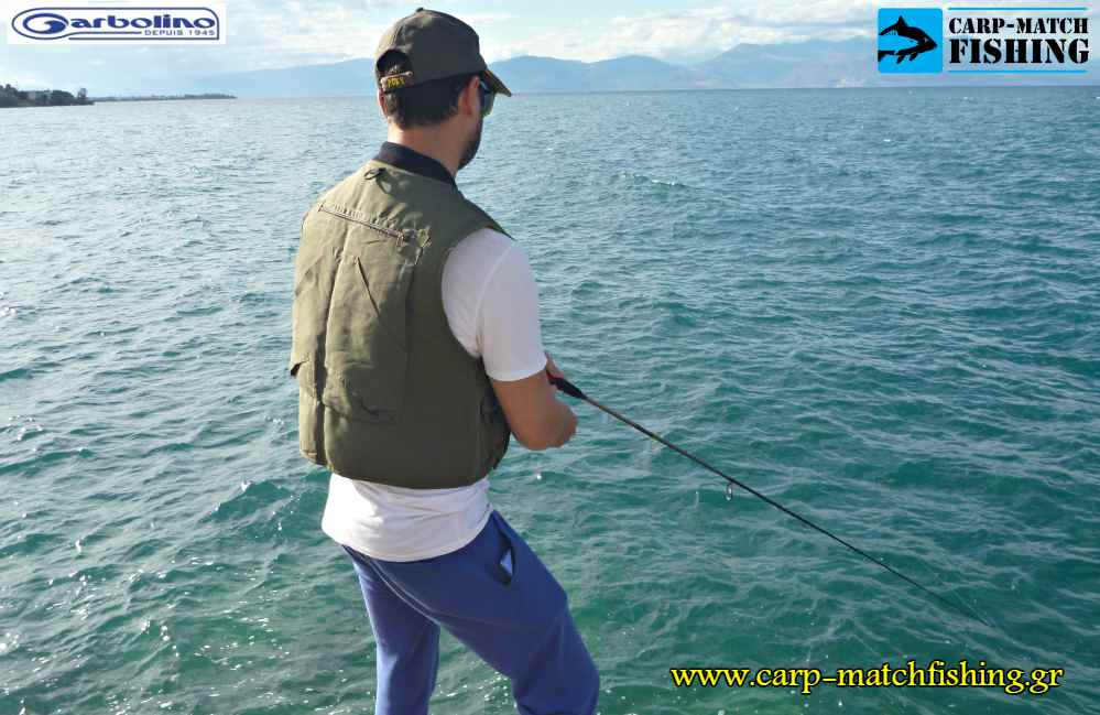 gileko garbolino back fishing vest carpmatchfishing