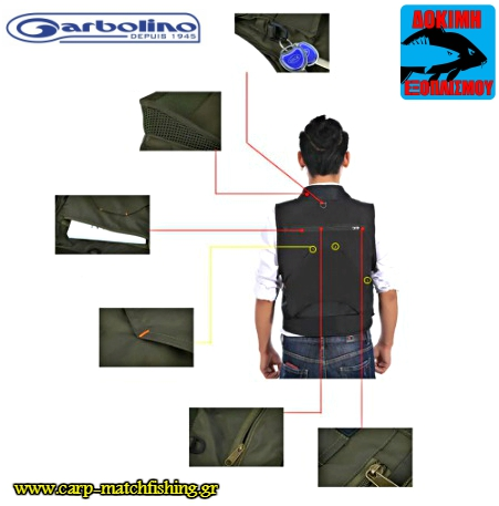 gileko psarematos garbolino outdoor back carpmatchfishing