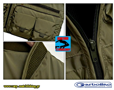 rafes gileko garbolino fishing vest carpmatchfishing