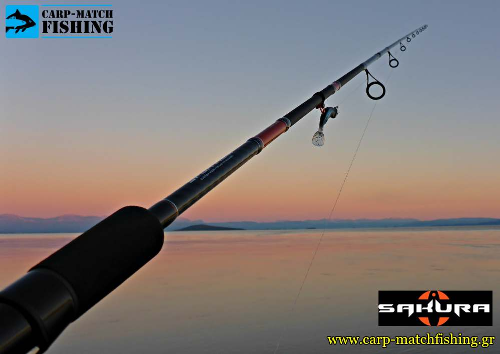 sakura sportism neo spinning rod all carpmatchfishing